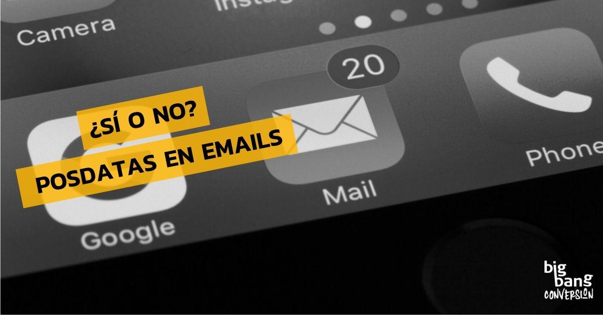 Posdata En Emails