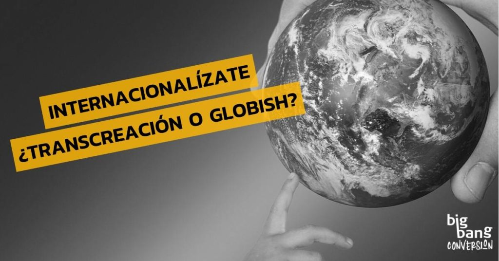Copy Internacional y Globish