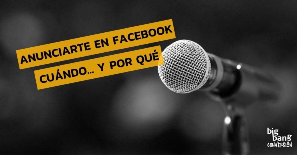 Aunciarse En Facebook
