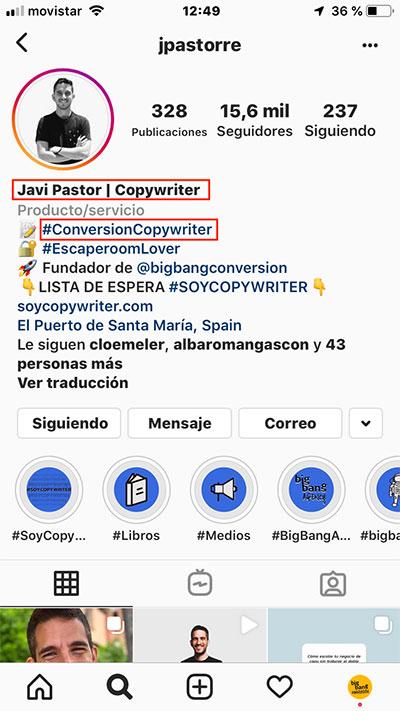 Keywords Instagram