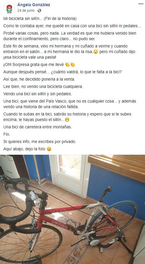 Vender Bicicleta Sin Pedales