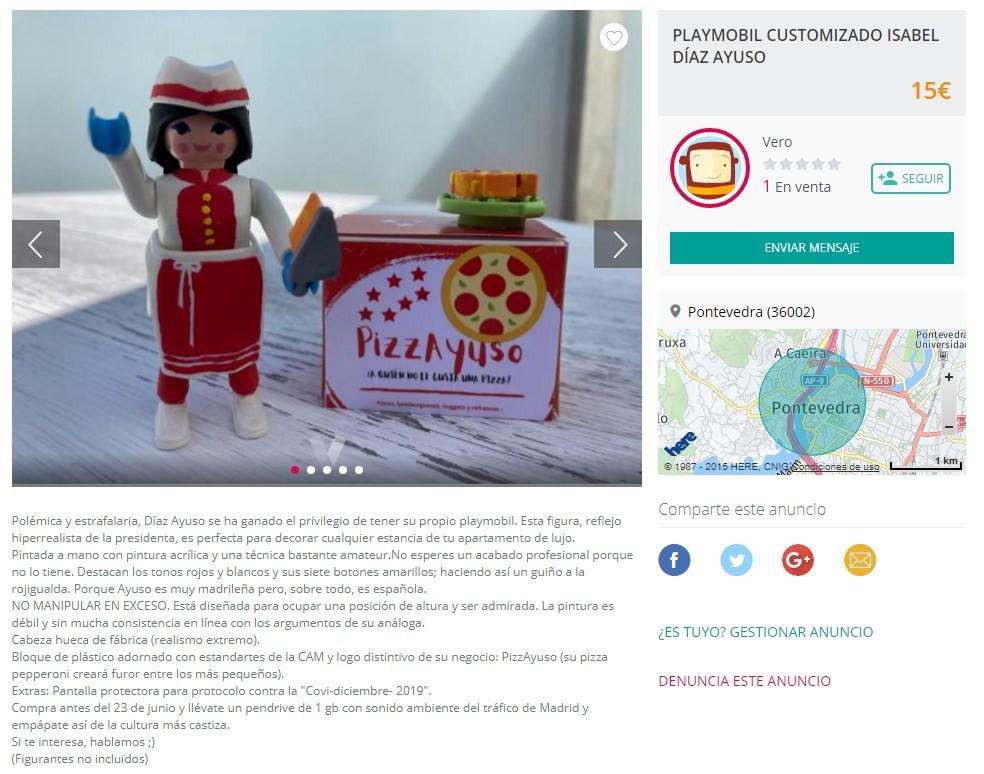 Vender Playmobil Ejemplo
