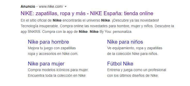 Extensiones Google Ads