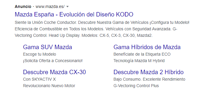Campana Ppc: Google
