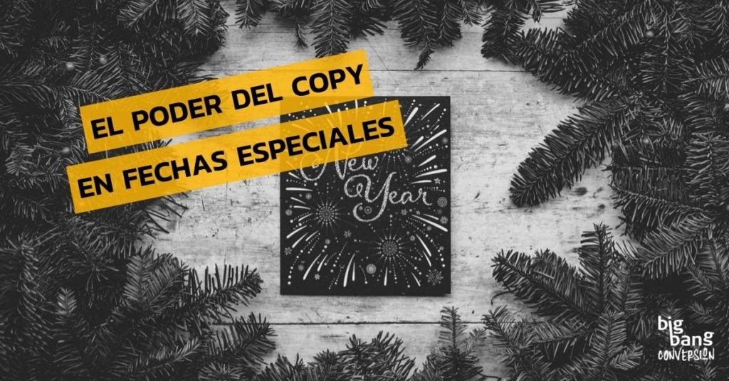 Copywriting para fechas especiales