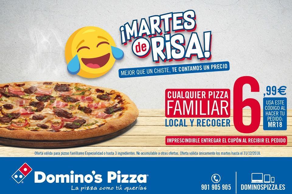 Martes Risa de Domino's