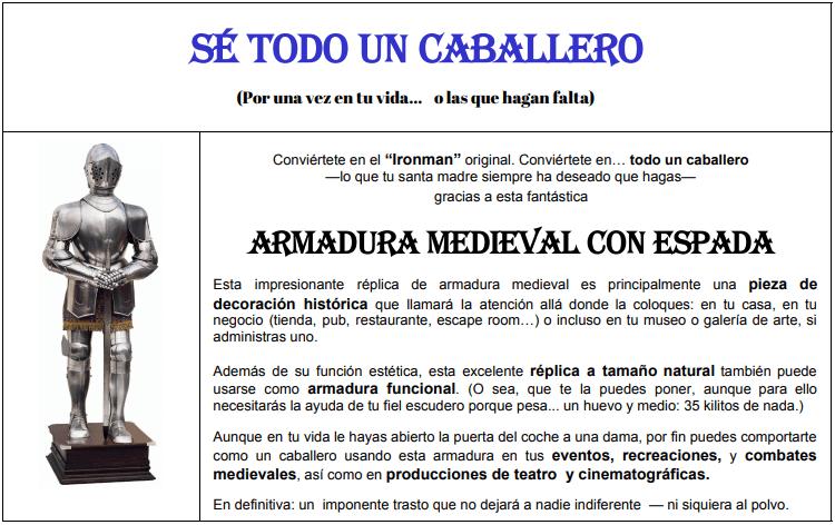 Copy para Armadura de Silvia Ruiz