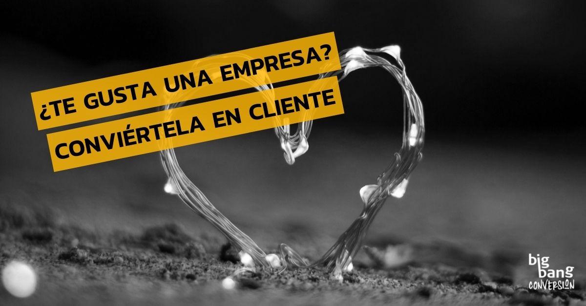 Convierte empresas en clientes