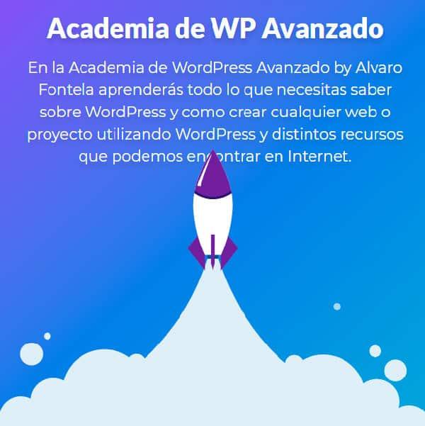 La Academia de WP Avanzado, de Álvaro Fontela.