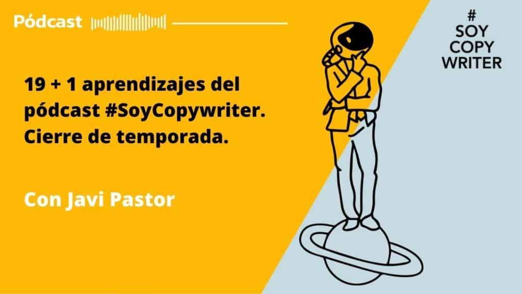 Aprendizajes pódcast soy copywriter