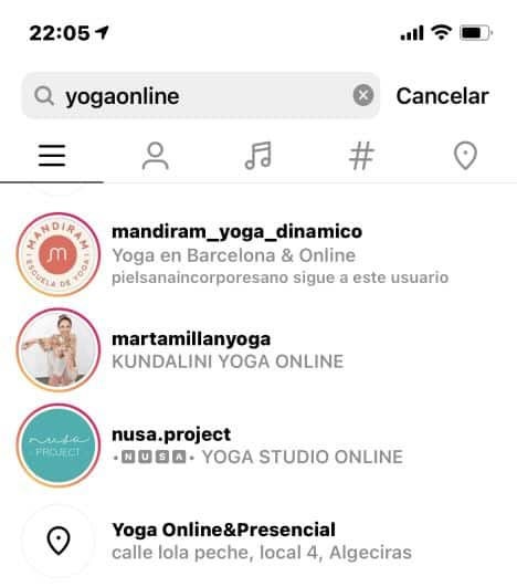como vender instagram yoga