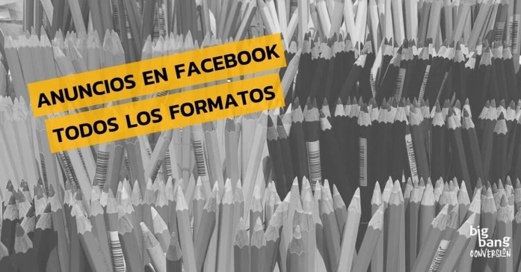 Formatos de anuncios de Facebook